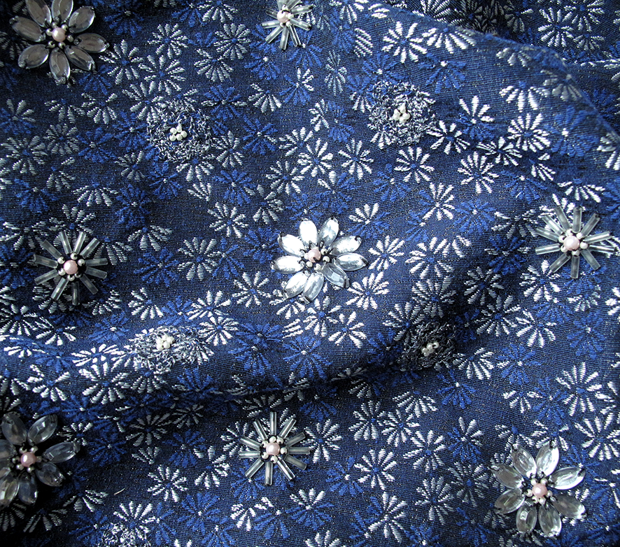 embroidery and jacquard designs